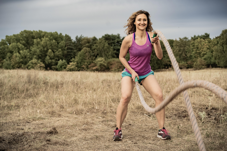 Personal Trainerin Anuschka Clasen