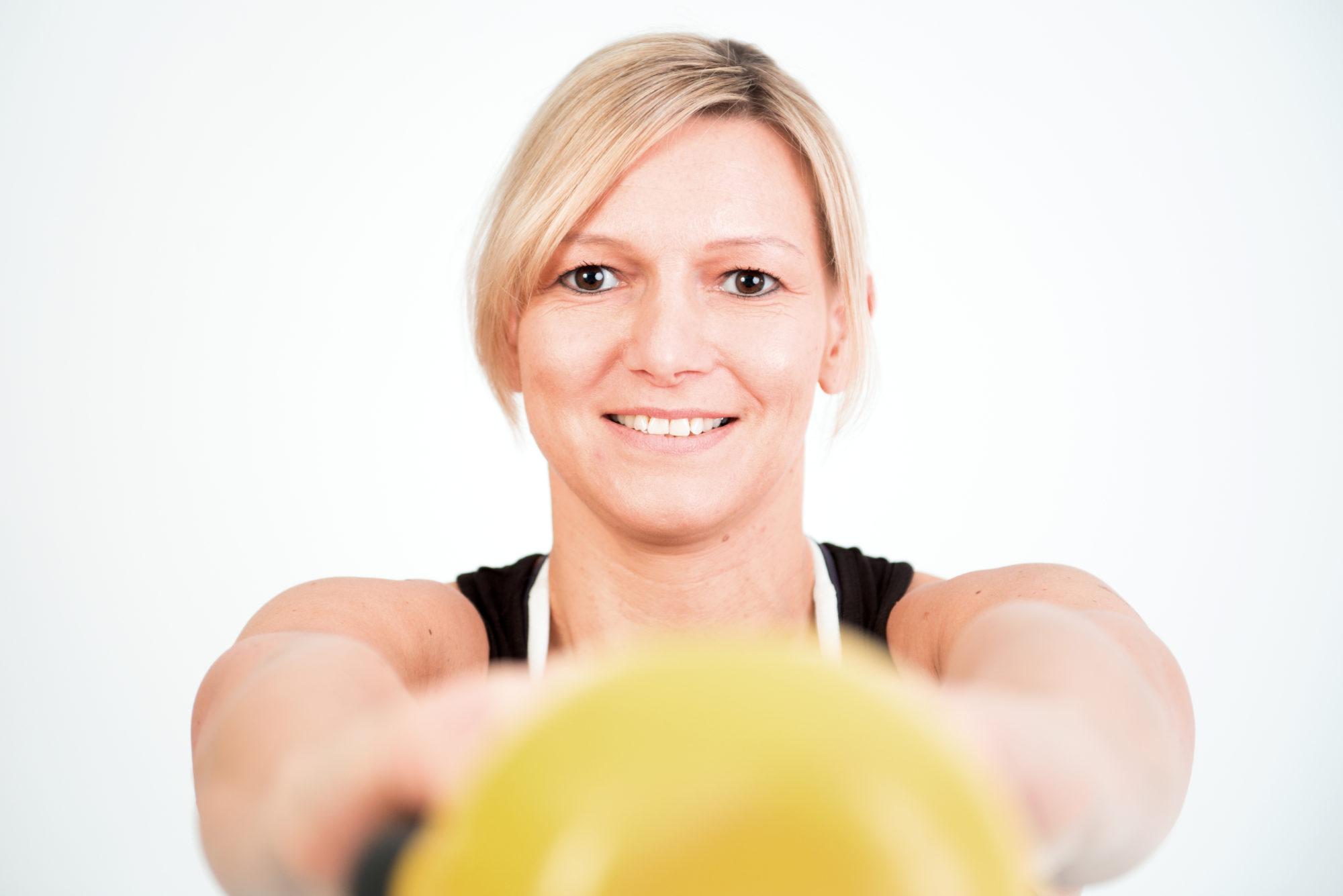 Deine Personal Trainerin in Düsseldorf-Bettina Heinzen