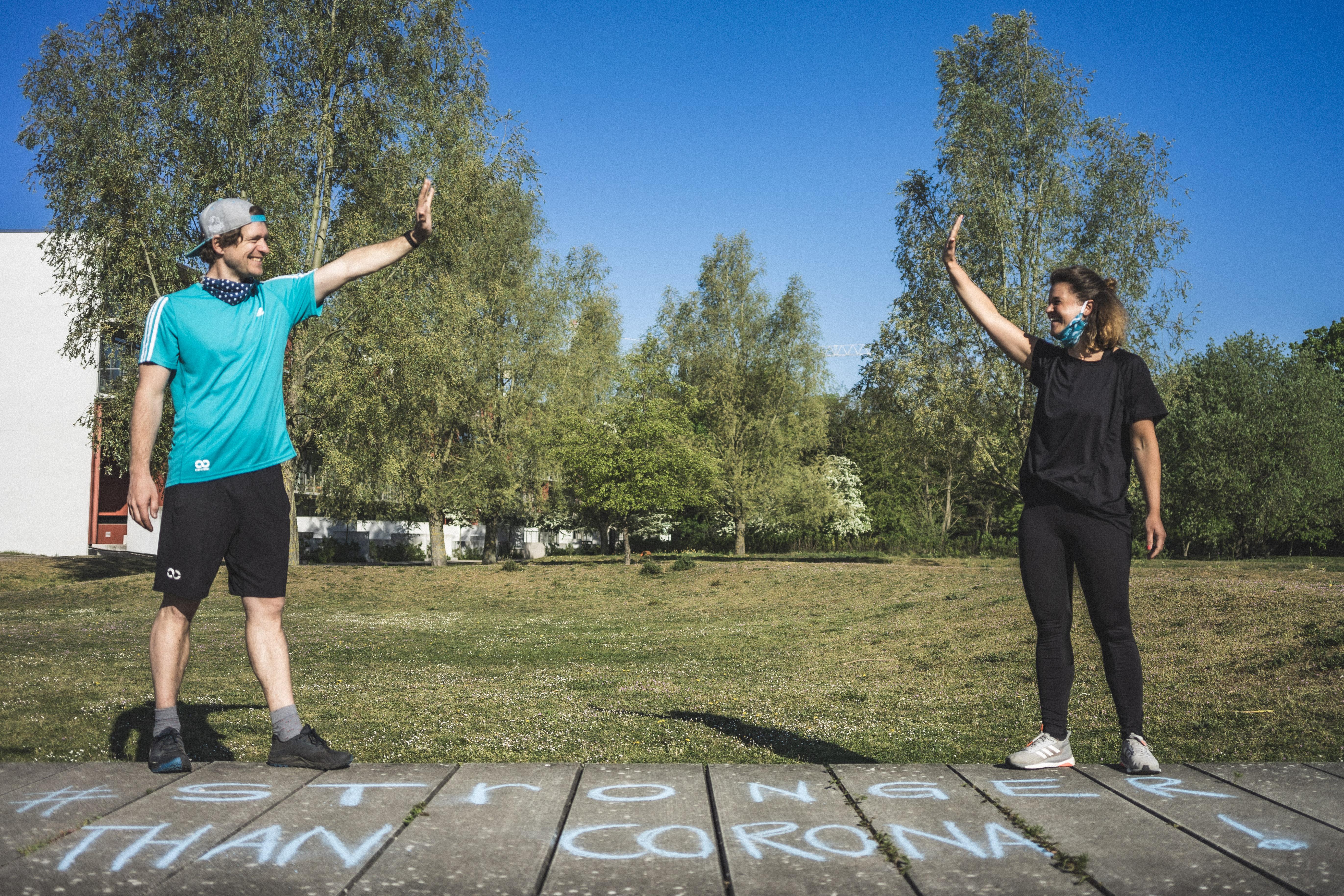 Wir freuen uns auf dich - Outdoor Fitness Restart!