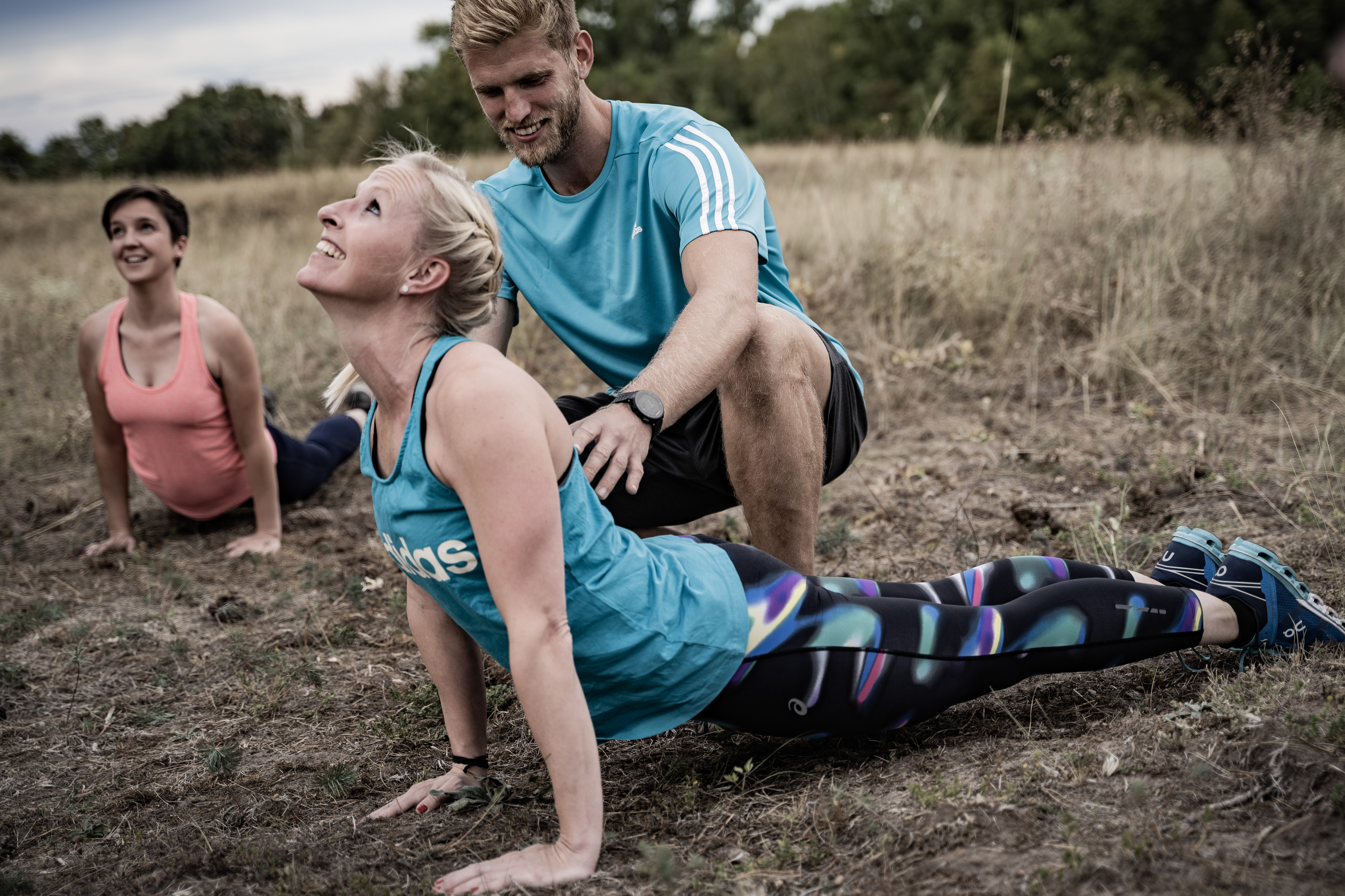 Outdoor Fitness bei unserem Personal Trainer Ioannis Apostolopoulos-Manganias